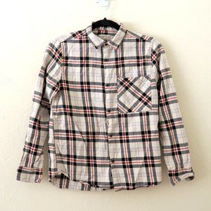 Zara Kids Tatran Long Sleeve Plaid Button Up Down